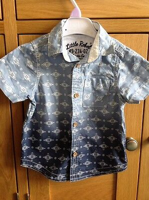 BABY BOYS SHIRT 12-18 months  Excellent condition