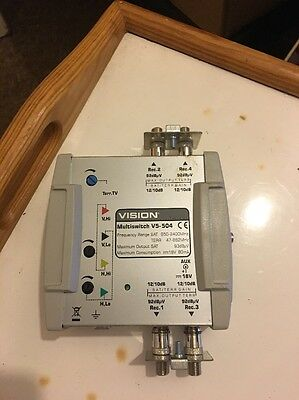 Vision 5 X 4 Cascade Multiswitch