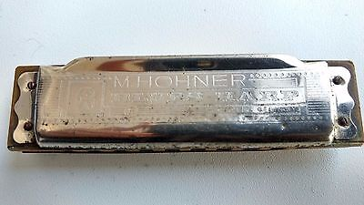Vintage M. Hohner Blues Harp Key Of G Made In Germany Harmonica