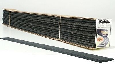 Woodland Scenics [WOO] HO Track-Bed Strips (12) ST1471 WOOST1471