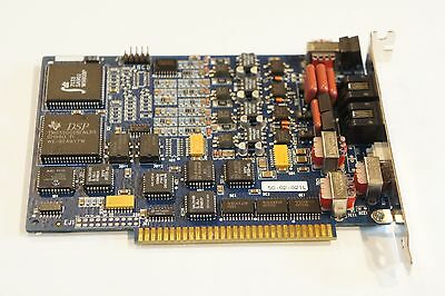 Rhetorex Dialogic Brooktrout RDSP Quartet 4 Port RDSP M6A ISA Card 50-02-021L