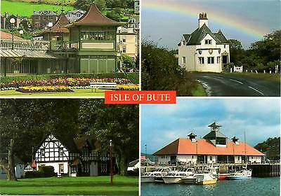 Isle of Bute - Scotland - Multiview - Dennis Postcard 1993