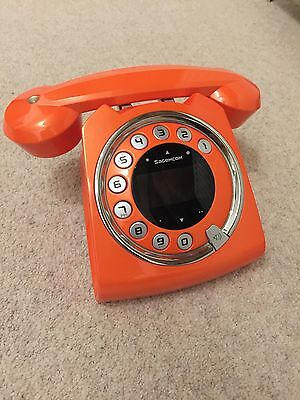 Sagemcom Sixty Cordless Phone In Orange