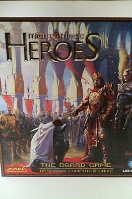 Heroes of Might and Magic !!! Board Game !!!! used in perfect condition