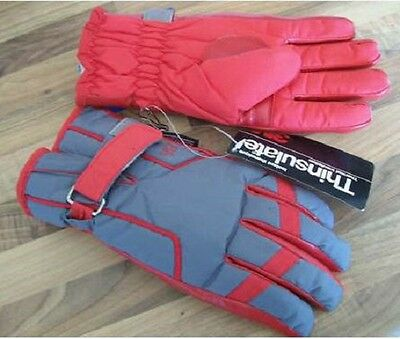 Men's Thinsulate Waterproof Ski Gloves - New, with tags
