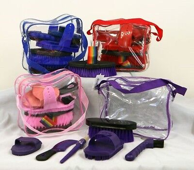 Children's 7 Piece Grooming Kit PINK! FREE SHIPPING