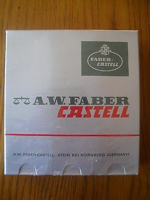 A.W FABER CASTELL PENCILS 6 TINS of 9000 3H ORIGINAL PACKAGING -UNOPENED