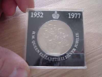 Silver Jubilee 1952-1977 Coin Issued By Bp