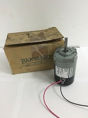 New Parvalux PM10 W08971 DC Electric Motor 60w 50vDC Gear Motor 4000RPM