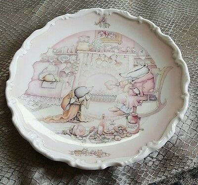 royal doulton wind in the willows plate