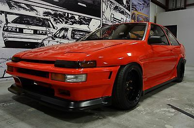 1983 Toyota Corolla Sprinter Trueno JDM Import Right Hand Drive Sprinter Trueno AE86