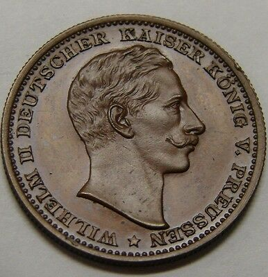 Germany Brandenburg-Prussia 1890 Wilhelm II Medal - Acquisition of Helgoland