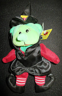 Beanie Kid - Cackle the Witch Bear (Wizard of Oz Series)