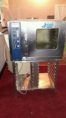 Rational combi oven with stand REDUCED