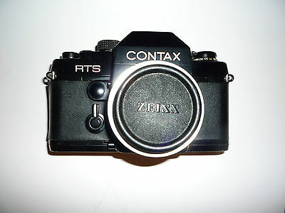 Contax RTS 35 mm film RTS camera body with Zeiss adapter