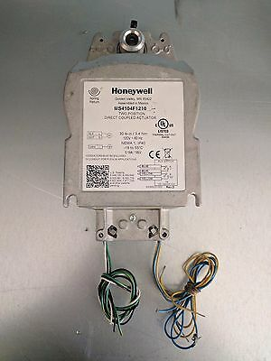 Lot of (4) Honeywell MS4104F1010 2 Position Direct Coupled Actuator 120V 30inlbs