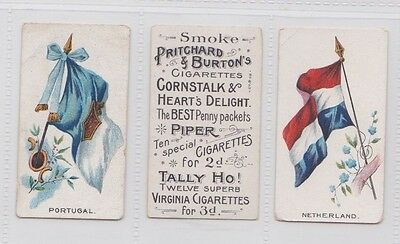 Rarer Pritchard & Burtons Flags & Flagers  With Soldiers
