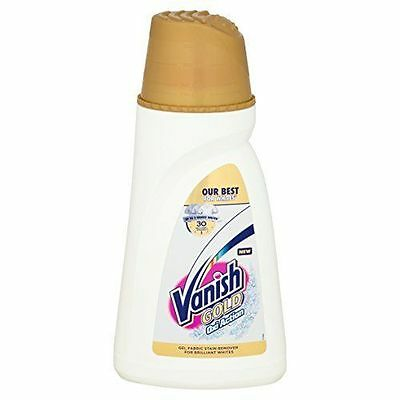 Vanish Gold Oxi Action Whites Gel Fabric Stain Remover 940ml Bankrupt Clearance