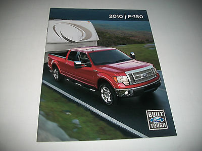 2010 Ford F-150 Deluxe Sales Brochure Clean Canadian Market No Dealer Stamp
