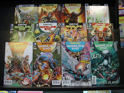 EARTH 2 WORLD'S END 1-26 DC COMICS COMPLETE - Read Once. VF or Better