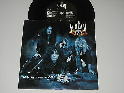 "The Scream [Motley Crue]- Man In The Moon (Hollywood Records 7"" Vinyl - 1991)"