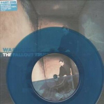"""FALLOUT TRUST Washout 7"""" VINYL European At Large Blue Vinyl B/W In Case Of The"""