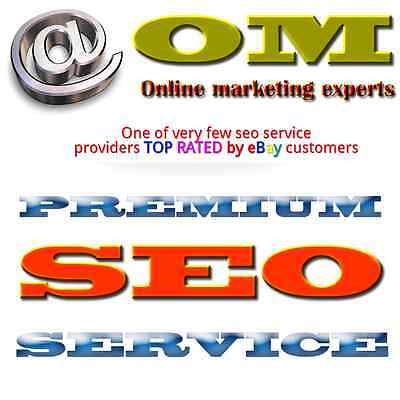 SEO service - get your website to google page1 (top10) in 30 days