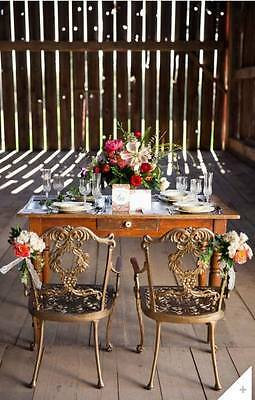 Hauser Captain Chairs In Gold Patio Dining Furniture