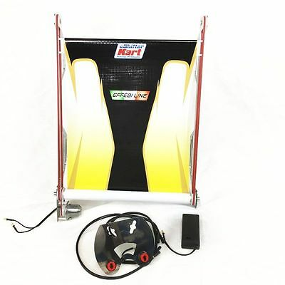 New! eShifter Kart Racing Products Electronic Radiator Curtain, PCR 17X12