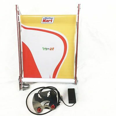 New! eShifter Kart Racing Products Electronic Radiator Curtain, DR Kart 17X12
