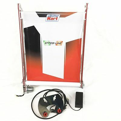 New! eShifter Kart Racing Products Electronic Radiator Curtain, Birel 17X12