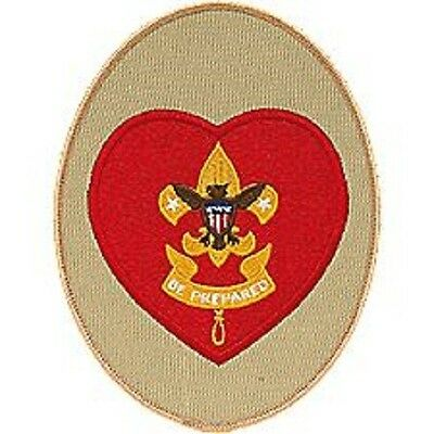 BOY SCOUT CUB SCOUTS BIG JUMBO EMBROIDERED JACKET DISPLAY PATCH EMBLEM GIFT NEW
