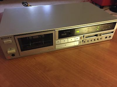 Vintage Sony Stereo Cassette Tape Deck TC FX422R Dolby   Very Good Condition !