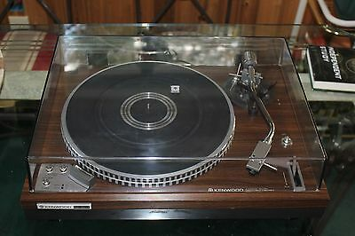 Vintage Kenwood KD3077 Turntable BEAUTIFUL japan Works