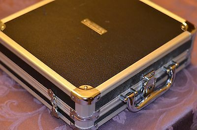CD / DVD Hardshell Case (Holds 80 disks and locks with a key)