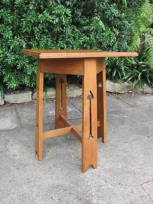 Arts and Crafts Oak Occasional Table c.1910