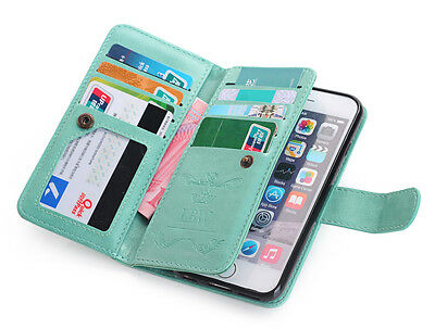 Luxury Magnetic Flip Cover Stand Wallet Leather Case For iPhone 6 Plus