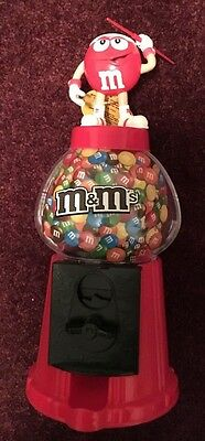M&M Red Throwing Javelin Olympic Sport Dispenser NWT