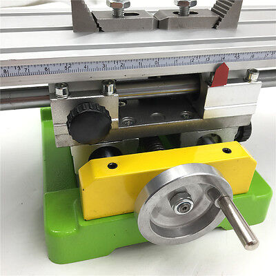 Miniature Cross Worktable Bench Drill Precision Adjustable CNC Milling Machine