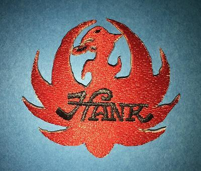 Hank Williams Jr Country Western Music Hat Jacket Vest Patch Red