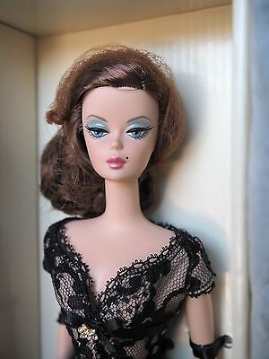 Barbie Silkstone A TRACE OF LACE Fashion Model Collection NRFB Gold Label LE