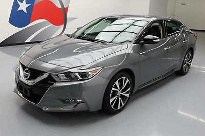 2017 Nissan Maxima  2017 NISSAN MAXIMA 3.5 SV  HTD LEATHER NAV REAR CAM 14K #365014 Texas Direct