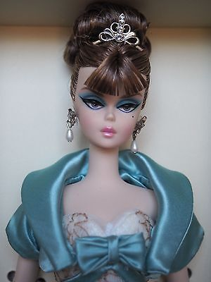Barbie PARTY DRESS Silkstone Fashion Model Collection NRFB Gold Label LE
