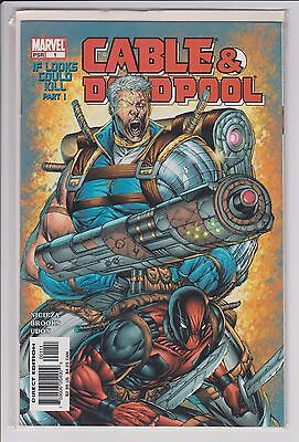 Cable & Deadpool #1 Marvel Comics 2004 first print NM condition