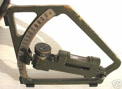 Wwii  Gunners Quadrant With  Case