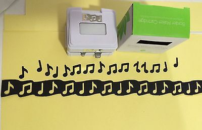"Cartridge For Creative Memories Border Maker ""Musical Notes"""