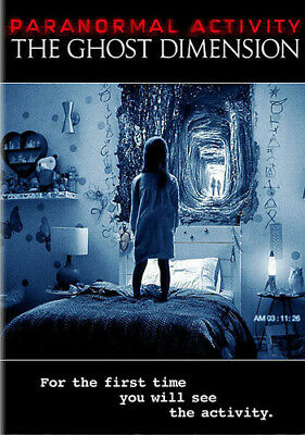 Paranormal Activity: The Ghost Dimension [New DVD] Widescreen, Sensormatic