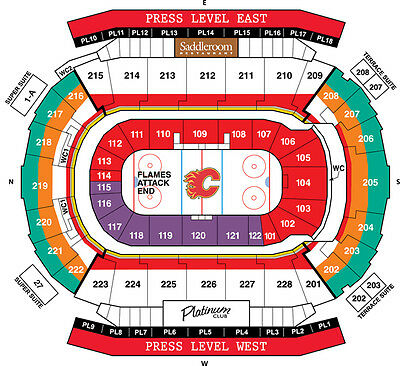 2 or 4 Tickets ~ Sec 228 ~ Calgary Flames vs Los Angeles Kings - March 19, 2017