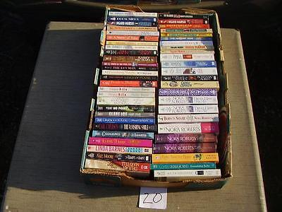 Lot of 51 Paperback books Mystery, Romance and more. B20