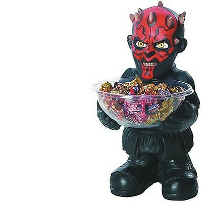 Candy Holder - Star Wars - Darth Maul - Collectible Halloween Statue Decoration